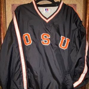 Russell Pullover Black Oklahoma State OSU XXL.